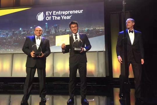 留学生创建北美华人最大生活用品电商网站 获年度企业家奖