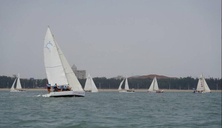 2018东山岛企业家帆船赛在福建举行