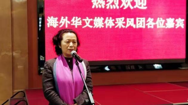 安徽省政协副主席孙丽芳寄语 海外华媒讲好中国故事安徽篇