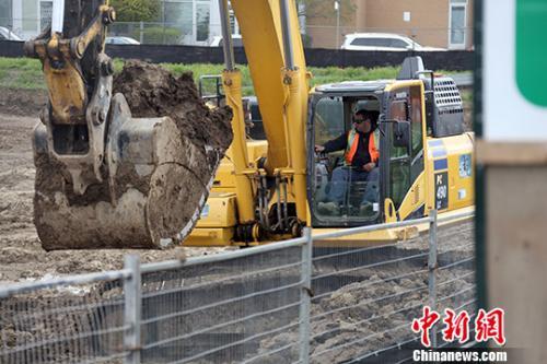 加拿大首个华人开发24小时营业大型商城动工