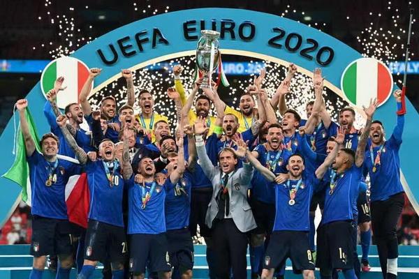 意大利夺得2021年欧洲杯足球赛冠军