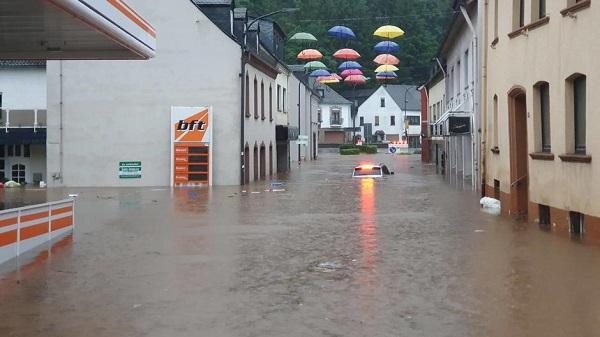 欧洲百年以来最大的洪灾